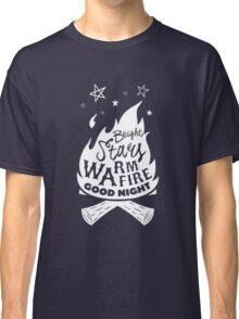 Bright Stars Warm Fire Good Night Classic T-Shirt