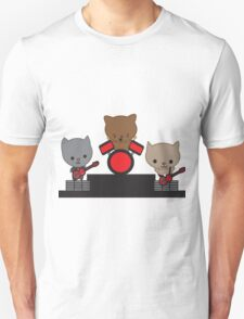 Kitty Cat Kawaii Band Unisex T-Shirt