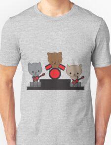 Kitty Cat Kawaii Band Unisex T-Shirt