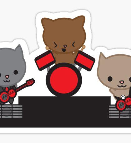 Kitty Cat Kawaii Band Sticker