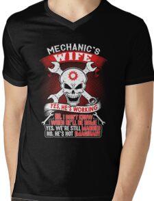 mechanic's wife shirt Mens V-Neck T-Shirt
