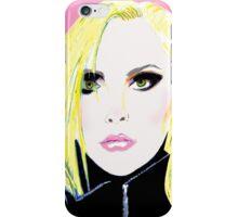 Punk Artist Debbie Harry - Blondie iPhone Case/Skin