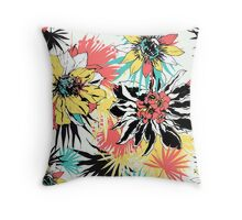 Fresh Tropical Throw Pillow