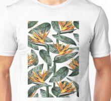 Bird Of Paradise Pattern #society6 #decor #buyart Unisex T-Shirt