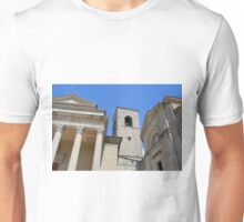 Classical buildings from San Marino Unisex T-Shirt