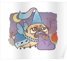 Pug Princess, Trick-or-Treat Poster