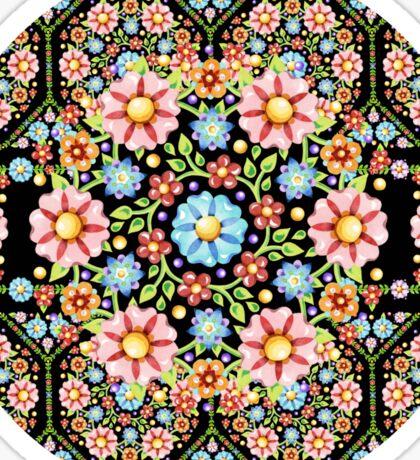 Millefiori Rosette Sticker