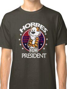 Calvin And Hobbes Camera Pose Classic T-Shirt