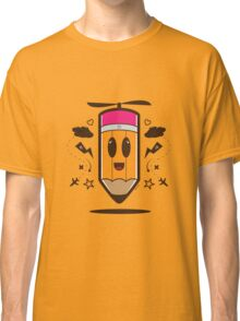 Fly Pencil Vector Classic T-Shirt