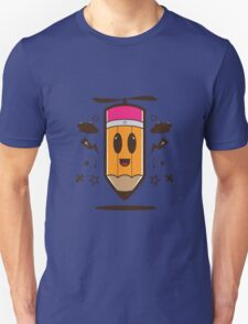 Fly Pencil Vector Unisex T-Shirt
