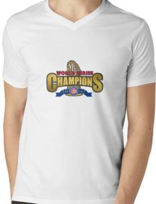 Cubs Win World Series 2016 Mens V-Neck T-Shirt