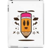 Fly Pencil Vector iPad Case/Skin