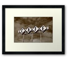Route 66 Cafe Framed Print