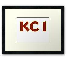 KC 1 Framed Print