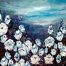 White Roses by Robin Monroe