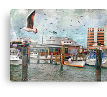 Birds Flying High, You Know How I Feel... Canvas Print