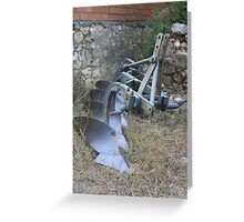 The Plough Greeting Card
