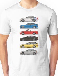 Bavarian E36 Family Unisex T-Shirt