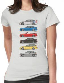 Bavarian E36 Family Womens Fitted T-Shirt