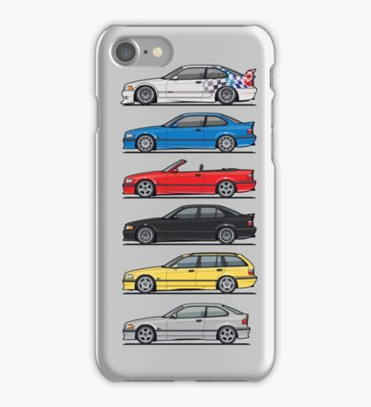 Bavarian E36 Family iPhone Case/Skin