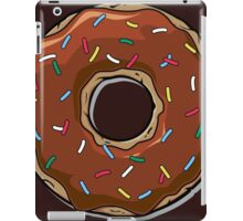 Chocolate Cartoon Donut iPad Case/Skin