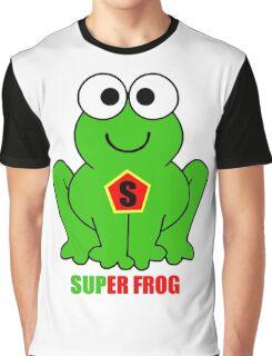 SUPER FROG Graphic T-Shirt