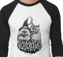NIGHT CREATURES Men's Baseball ¾ T-Shirt