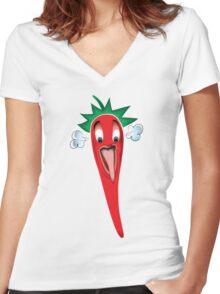 Hottttttt2 Women's Fitted V-Neck T-Shirt
