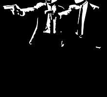 Daft Punk Pulp Fiction by monsterdesign