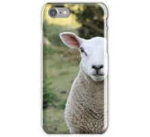 A Curious Sheep from Rye England iPhone Case/Skin