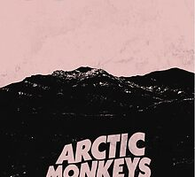 Arctic Monkeys AM Poster by Gloomer
