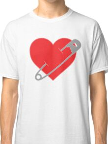 Pinned Heart Classic T-Shirt