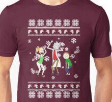 rick and morty xmas /idgaf print/ Unisex T-Shirt