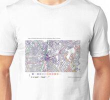 Multiple Deprivation Coldharbour ward, Lambeth Unisex T-Shirt