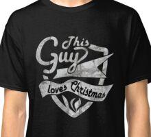 This Guy loves Christmas T-Shirt Classic T-Shirt