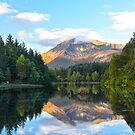 Glencoe Lochan, Glencoe, Scotland. by Jim Wilson