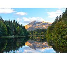 Glencoe Lochan, Glencoe, Scotland. Photographic Print