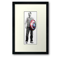 Captain Whedon Framed Print