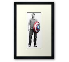 Captain Whedon Framed Print