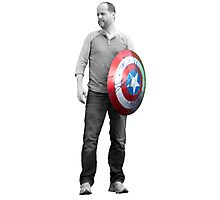 Captain Whedon Photographic Print