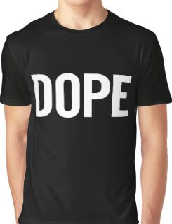 Dope (White) Graphic T-Shirt