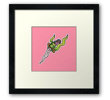 Mermaid Dagger Framed Print
