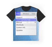 Technophobe concept. Graphic T-Shirt