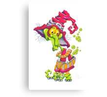 M'ODD'STER 05 - WITCH'Y POO Canvas Print