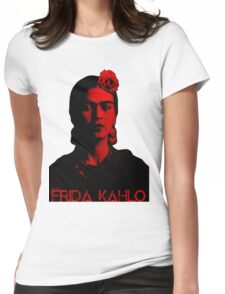 Frida Kahlo (Ver 8,2) Womens Fitted T-Shirt