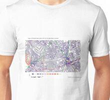 Multiple Deprivation Ferndale ward, Lambeth Unisex T-Shirt