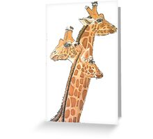 Kaz Art Creations Giraffe - Your Looking The Wrong Way Greeting Card