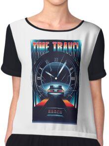 Time Travel Chiffon Top