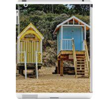 Wells next the sea beach huts iPad Case/Skin