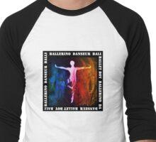 Ballet Boy - Dark Men's Baseball ¾ T-Shirt